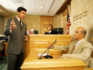 attorney questioning witness during cross-examination