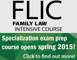 CEB's Family Law Intensive Course