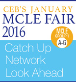 CEB's January MCLE Fair