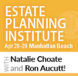 EPI 2017: The 39th Annual UCLA/CEB Estate Planning Institute