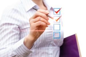 checklist to use for interrogatory procedures