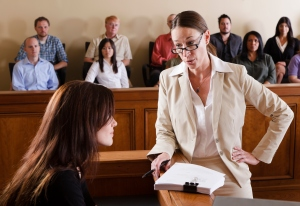 cross examining a witness
